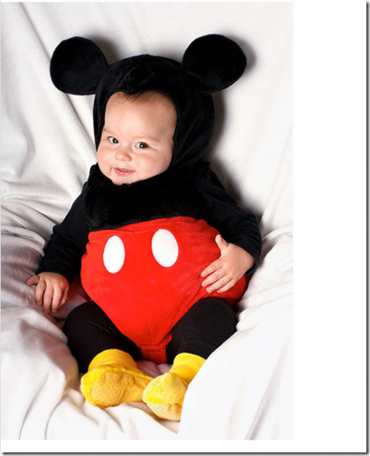 Micky Mouse baby halloween costume